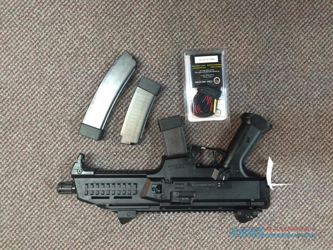 CZ USA SCORPION 9MM (30 RD MAG INCLUDED)  Guns > Pistols > CZ Pistols