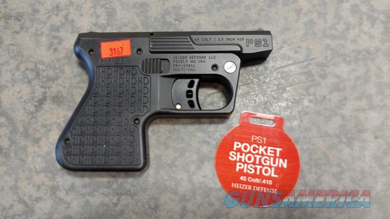HEIZER DEFENSE POCKET SHOTGUN  Guns > Pistols > H Misc Pistols