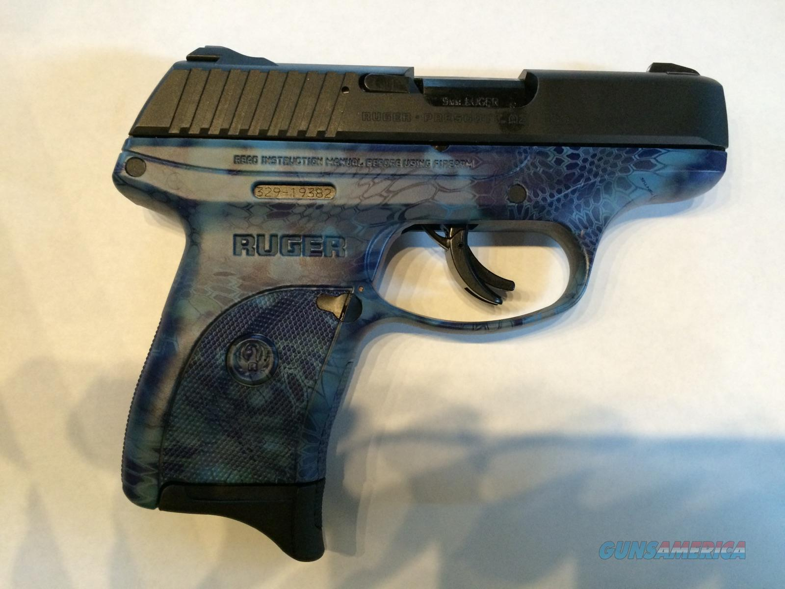 RUGER LC9S (PRETTY BLUE KRYPTEK) GREAT GIFT IDEA!!  Guns > Pistols > Ruger Semi-Auto Pistols > LC9