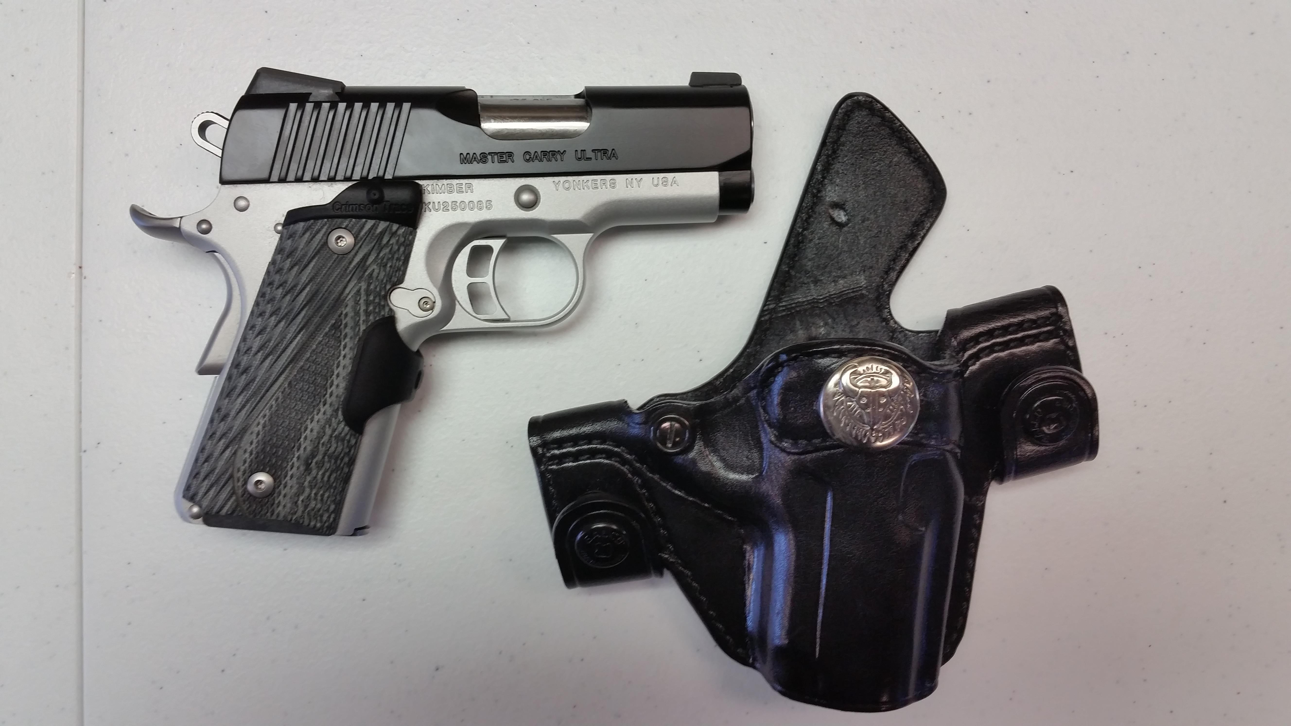 Kimber Master Carry w/Holster and Laser Grip  Guns > Pistols > Kimber of America Pistols