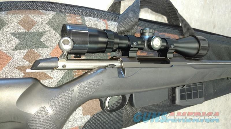 Tikka T3 .223 Syn w/scope & 2 mags    Guns > Rifles > Tikka Rifles > T3