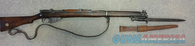 Lee-Enfield SMLE-MK3 .303 British w/Bayonet  Guns > Rifles > Enfield Rifle