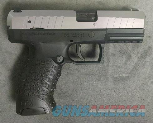 WALTHER PPX 9MM PST 16RD SS  Guns > Pistols > Walther Pistols > Post WWII > PPX