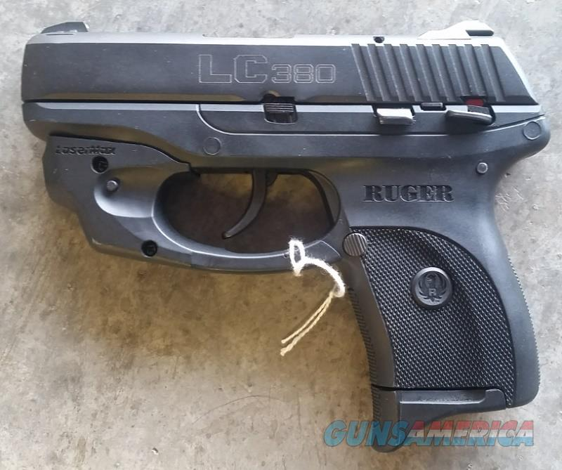 Ruger LC380 .380 AP Pistol w/LaserMax  Guns > Pistols > Ruger Semi-Auto Pistols > LC380