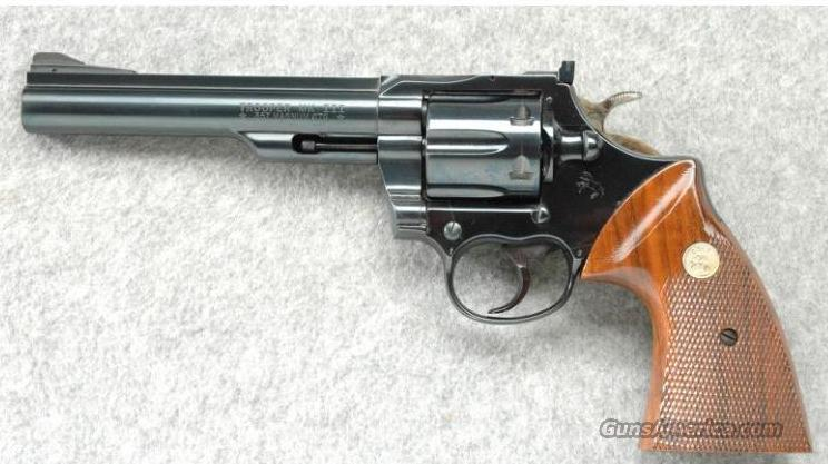 "Colt Mk III 6"" 1976 - Collector Quality  Guns > Pistols > Colt Double Action Revolvers- Modern"