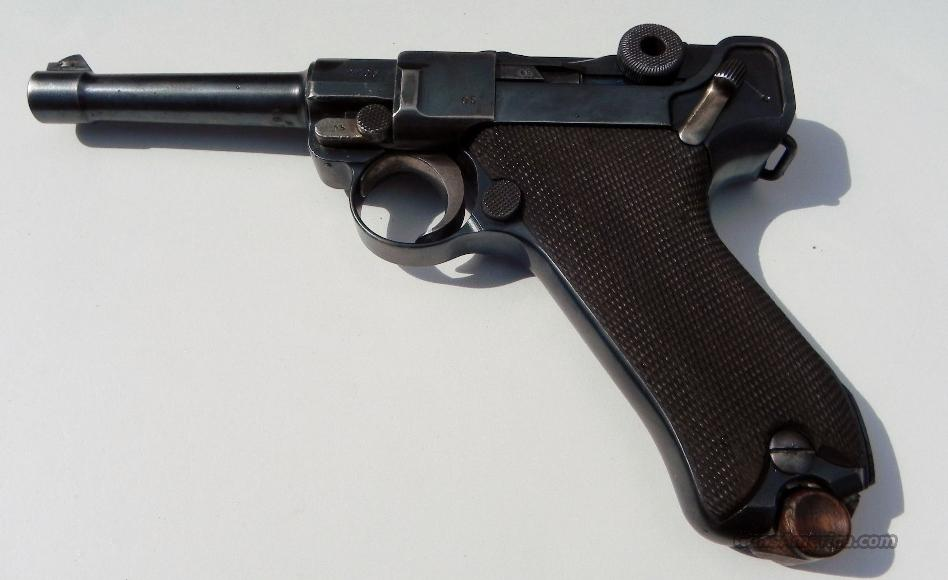 German Luger DWM dated 1916 all matching numbers  Guns > Pistols > Luger Pistols