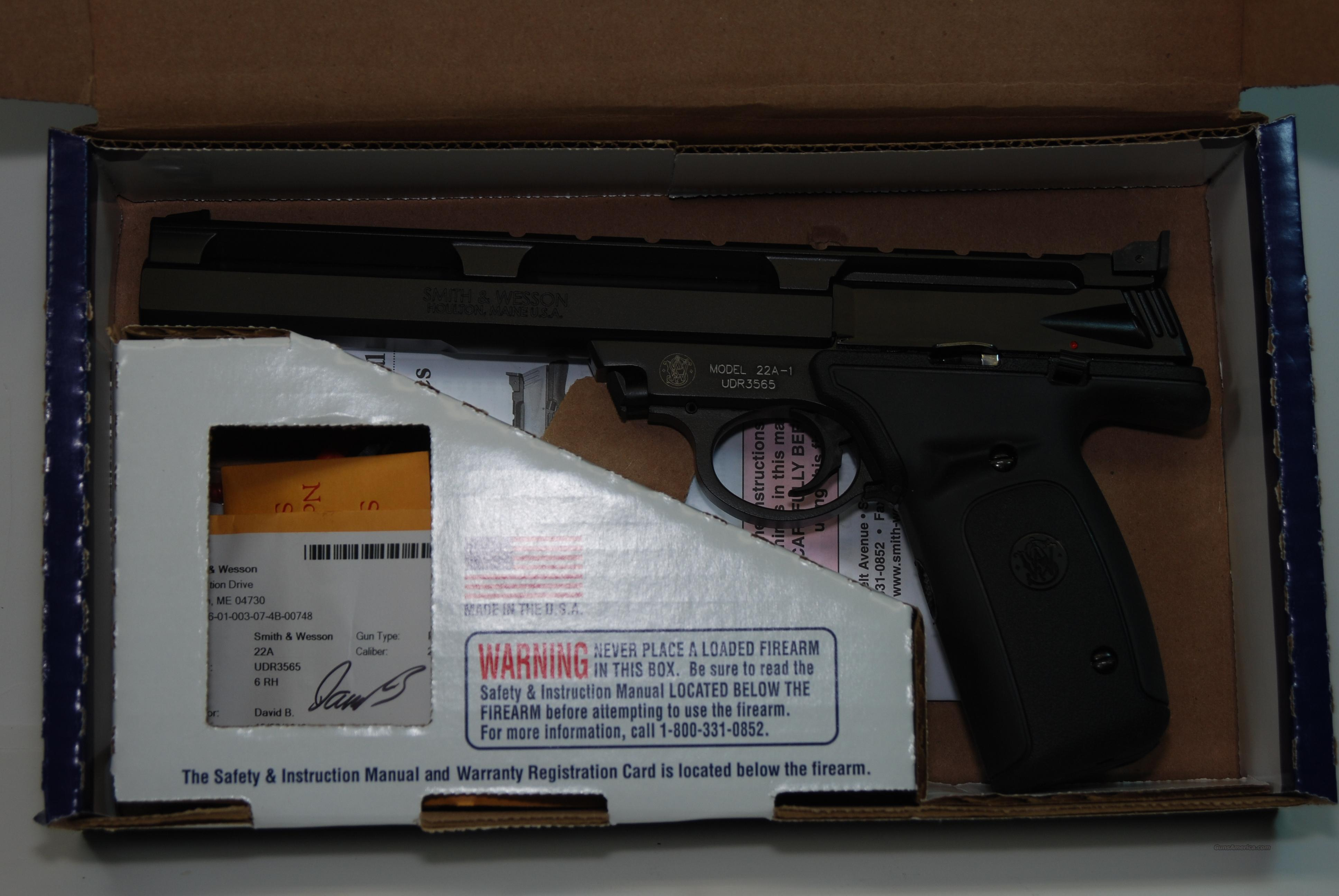 "Smith & Wesson 22A with 7"" Barrel  Guns > Pistols > Smith & Wesson Pistols - Autos > .22 Autos"