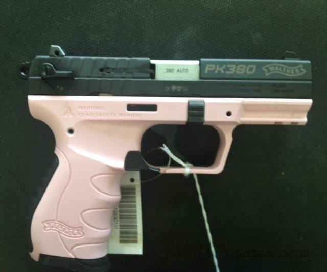 Walther PK380 In Pink NIB  Guns > Pistols > Walther Pistols > Post WWII > PK380