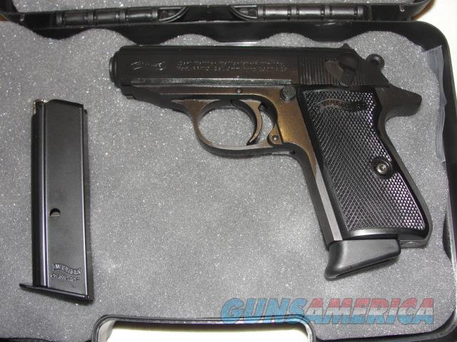 """Walther PPK/S Black .380 ACP 2-Mags 3.3""""  Guns > Pistols > Walther Pistols > Post WWII > PPK Series"""