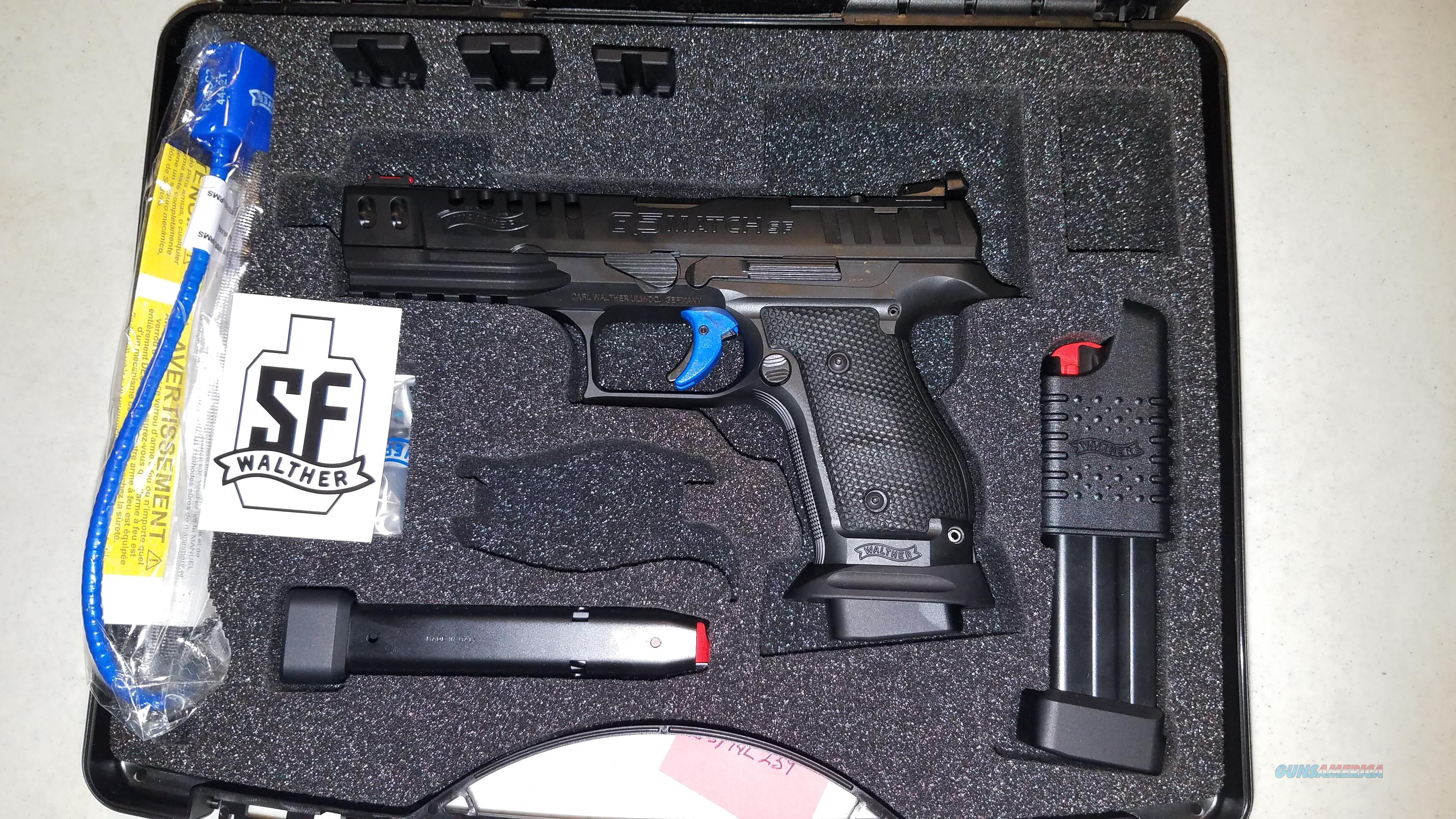 Walther PPQ Q5 M2 Match Pro 9mm Steel Frame  Guns > Pistols > Walther Pistols > Pre-1945 > Other