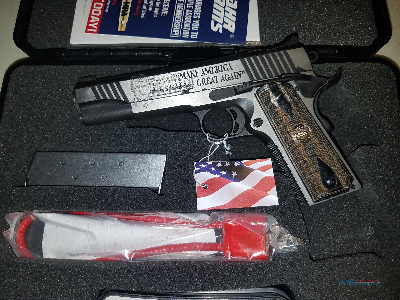 Auto ordnance Trump 45 custom 1911 45ACP  Guns > Pistols > Auto Ordnance Pistols