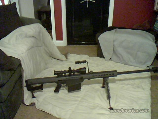 BARRETT M82A1  Guns > Rifles > Barrett Rifles