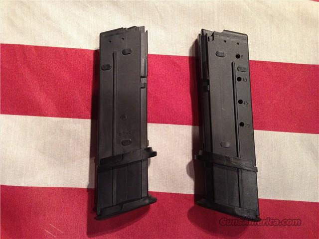 Ps90 For Sale >> 2 - FACTORY 30 ROUND MAGAZINES for FNH 5.7 Pist... for sale