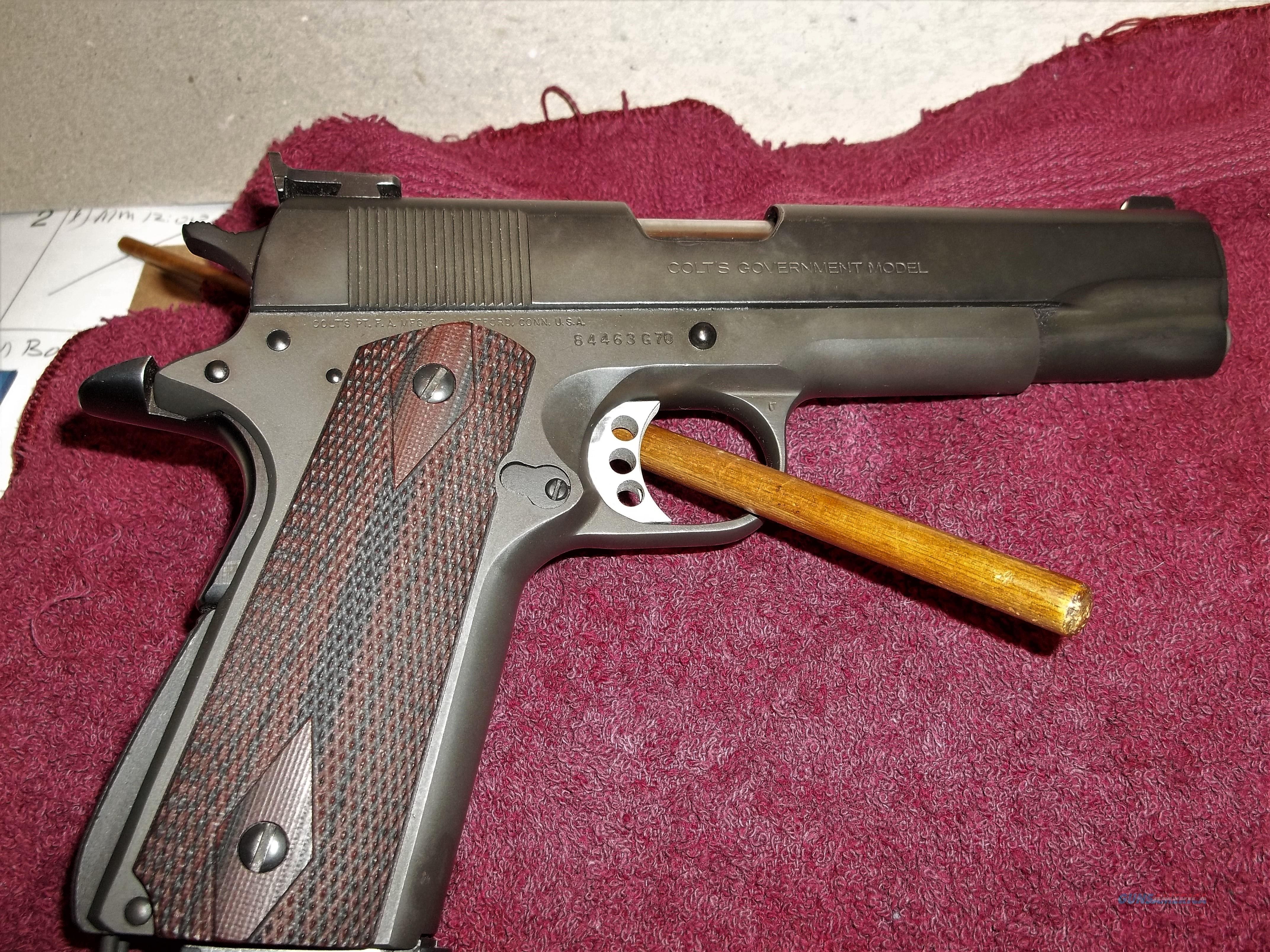 Colt 1911 Government NKIV series 70  Guns > Pistols > Colt Automatic Pistols (1911 & Var)