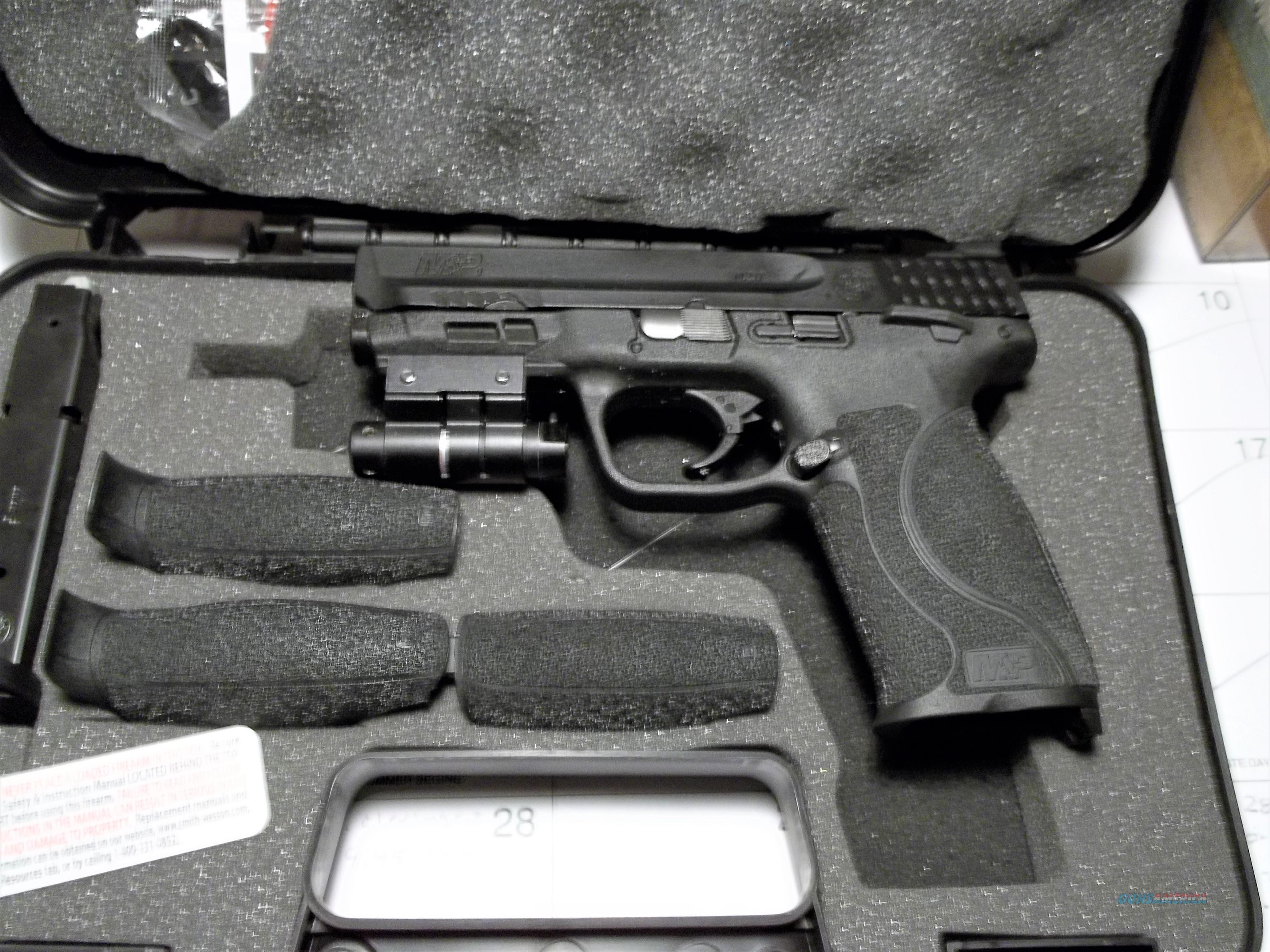 NIB S&W M&P9 M2.0 TS 9mm w/Safety & Laser  Guns > Pistols > Smith & Wesson Pistols - Autos > Polymer Frame