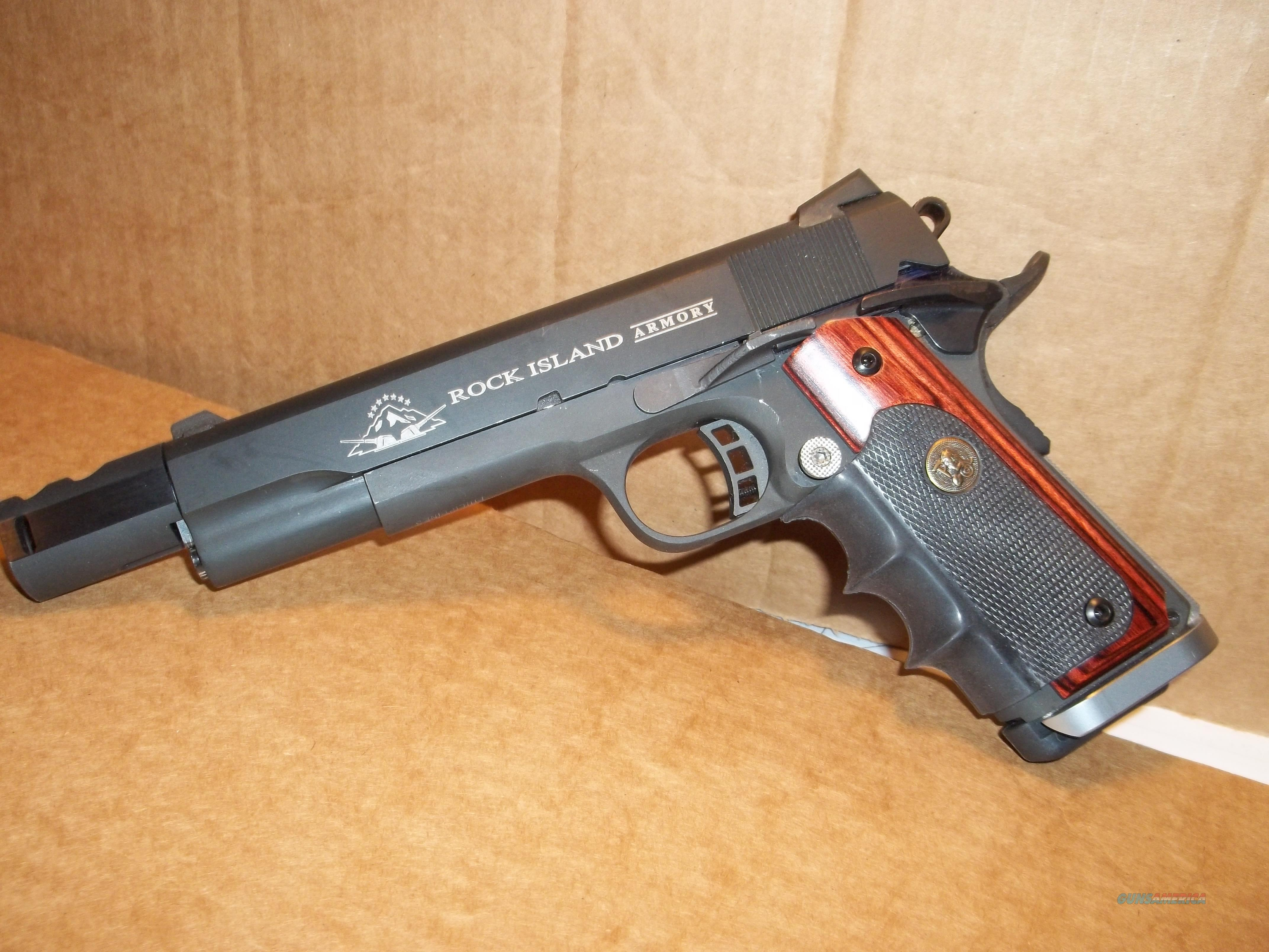 Custom Rock Island 1911 with Compensator  Guns > Pistols > Rock River Arms Pistols
