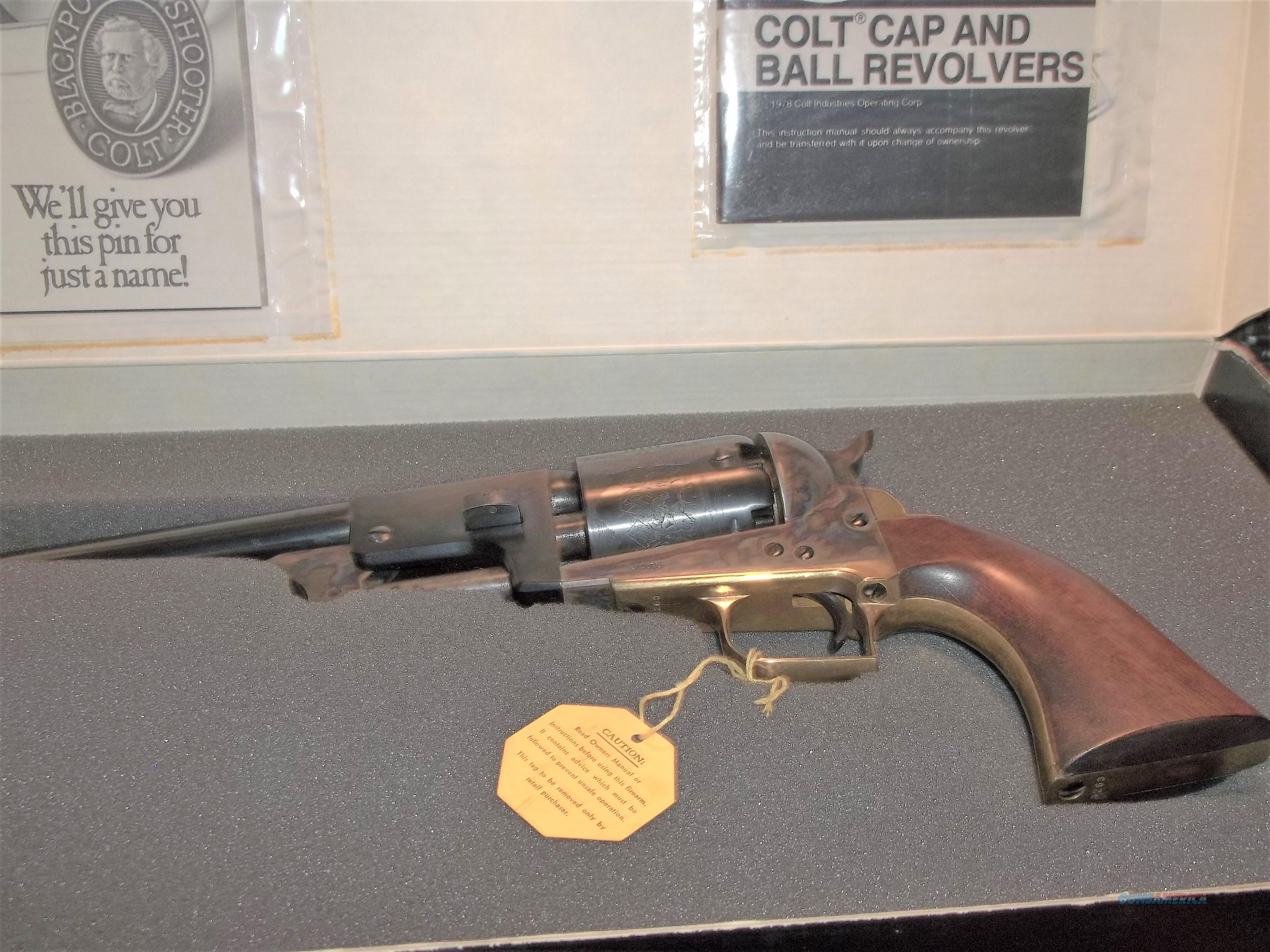 Colt 2nd Gen Dragoon .44 cal  Guns > Pistols > Colt Percussion Revolver - Modern