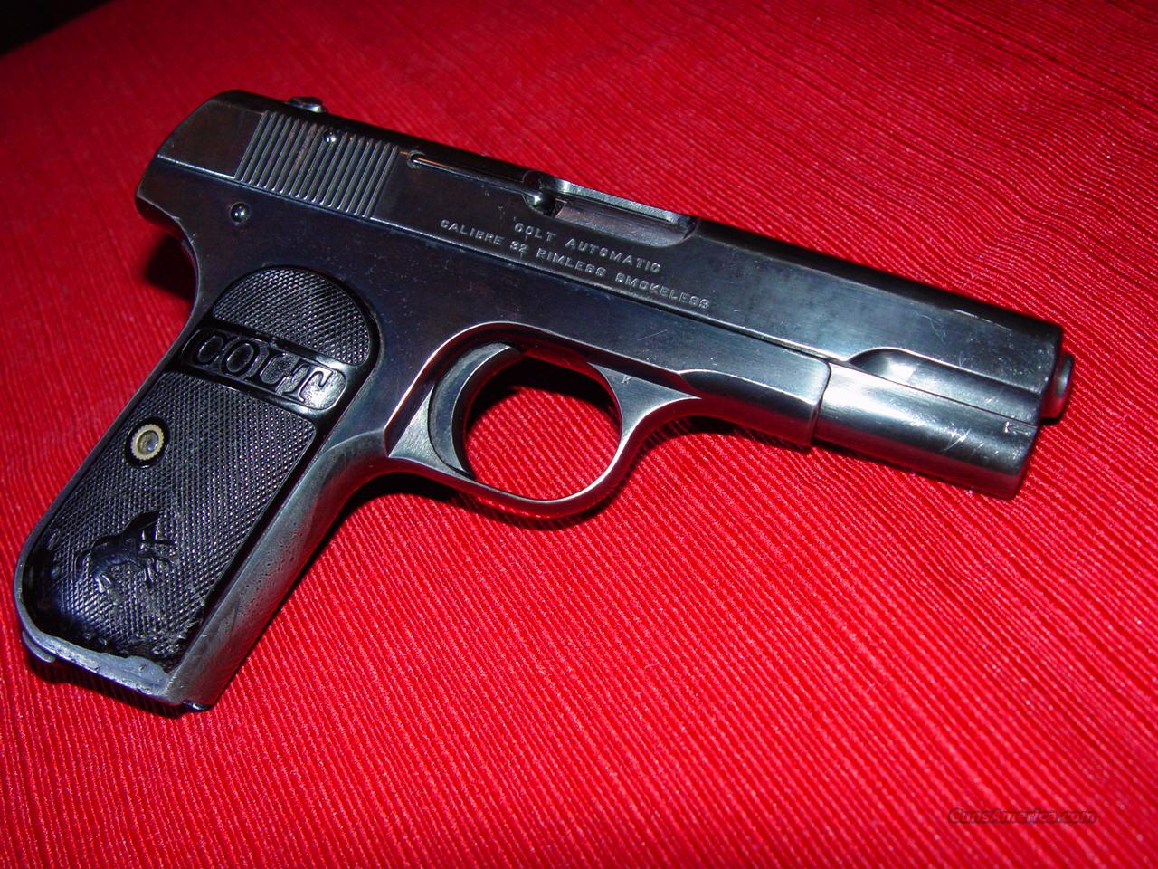 Colt Model 1903 Pocket Hammerless .32 ACP  Guns > Pistols > Colt Automatic Pistols (.25, .32, & .380 cal)