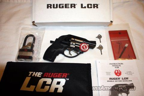 Ruger LCR .38 SPL +P w/ Crimson Trace Laser Grips  Guns > Pistols > Ruger Double Action Revolver > SP101 Type