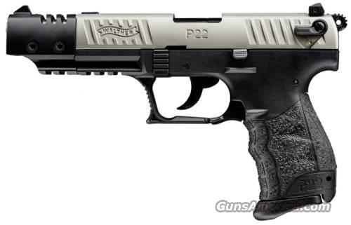 WALTHER P22Q TARGET 22 LR  Guns > Pistols > Walther Pistols > Post WWII > P22