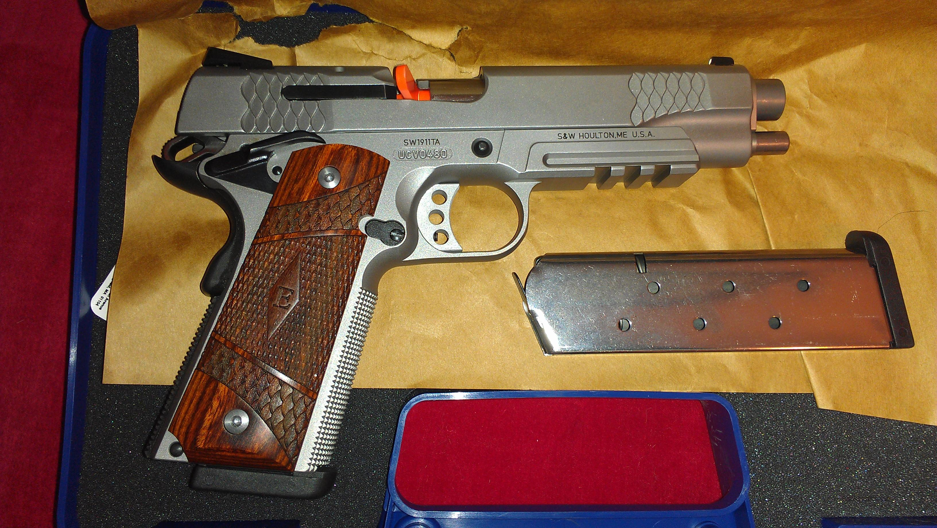 SMITH AND WESSON SW1911TA 45 ACP  Guns > Pistols > Smith & Wesson Pistols - Autos > Steel Frame
