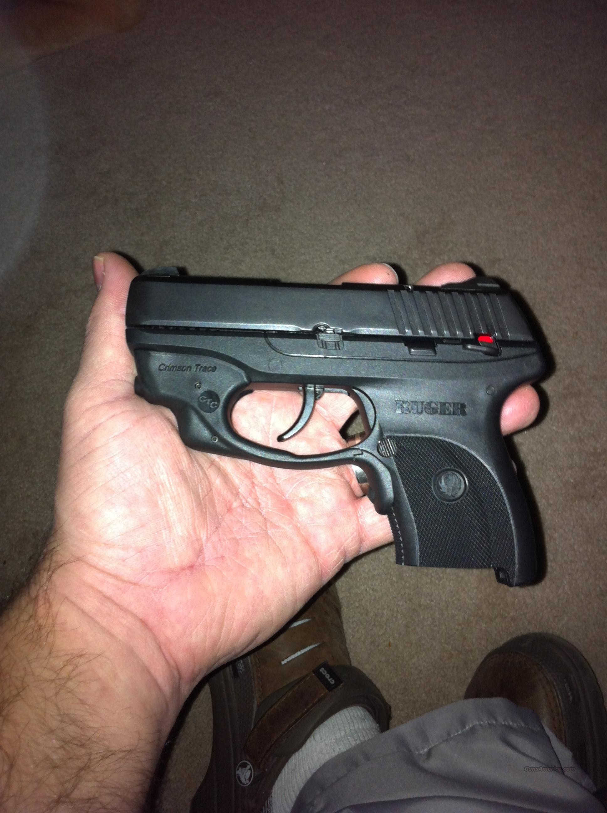 Ruger LC9CT with Crimson Trace  Guns > Pistols > Ruger Semi-Auto Pistols > LC9