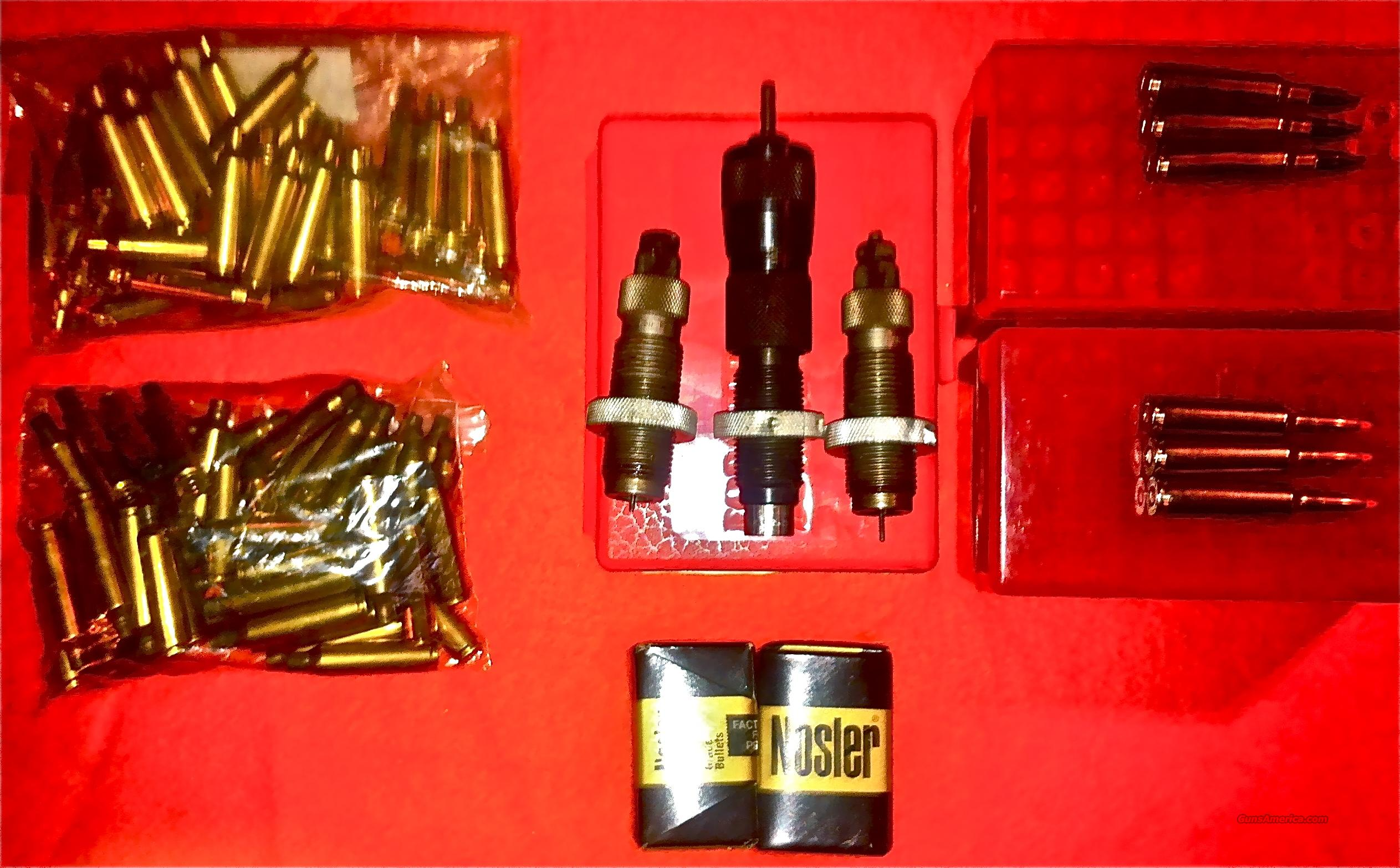 22-250 Forester 3 Die Set Components & Ammo Package  Non-Guns > Reloading > Equipment > Metallic > Dies
