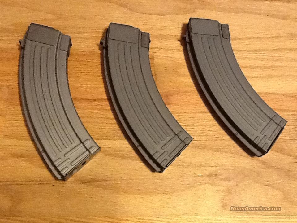 AK47 30 round Metal Magazines(3) Heavy Duty 7.62x39mm New AK-47 mags  Non-Guns > Magazines & Clips > Rifle Magazines > AK Family