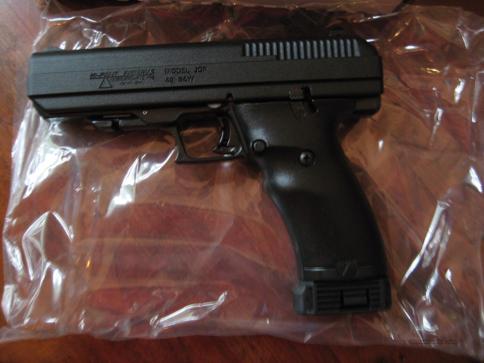 Hi Point JCP .40 S&W NIB  Guns > Pistols > Hi Point Pistols