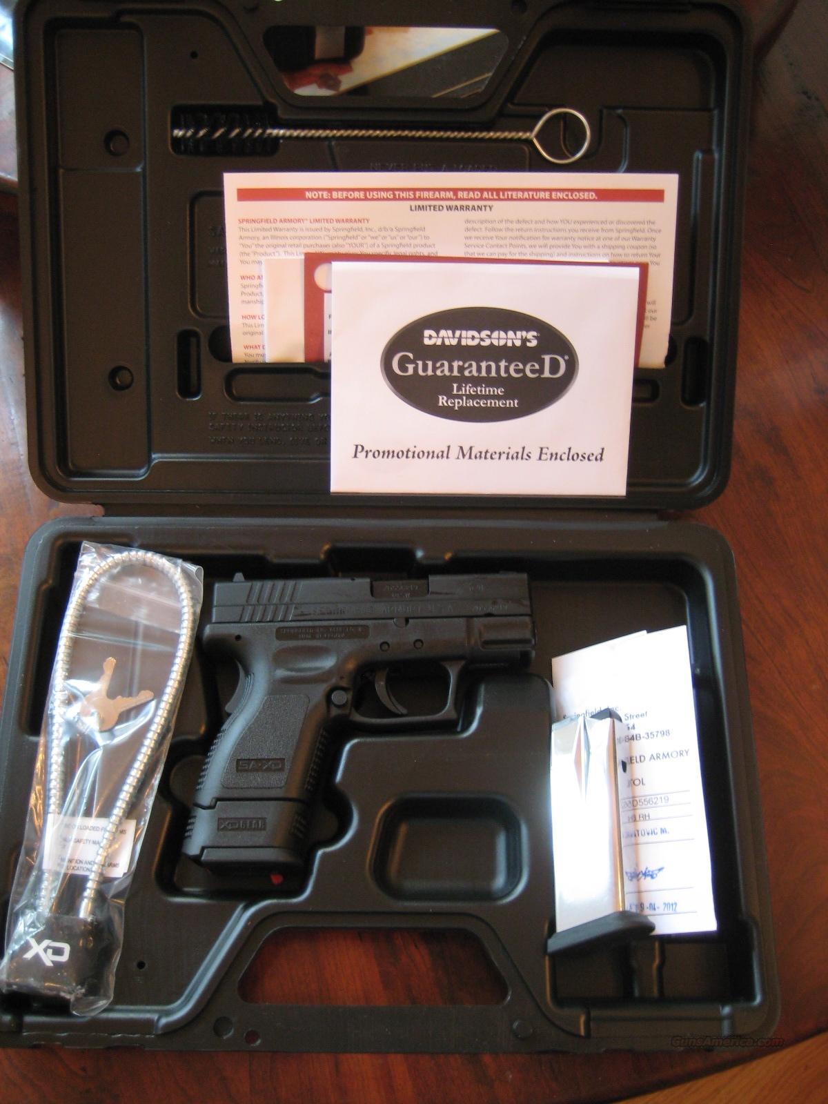 XD Subcompact by Springfield Armory  in .40 S&W New In Box  Guns > Pistols > Springfield Armory Pistols > XD-S