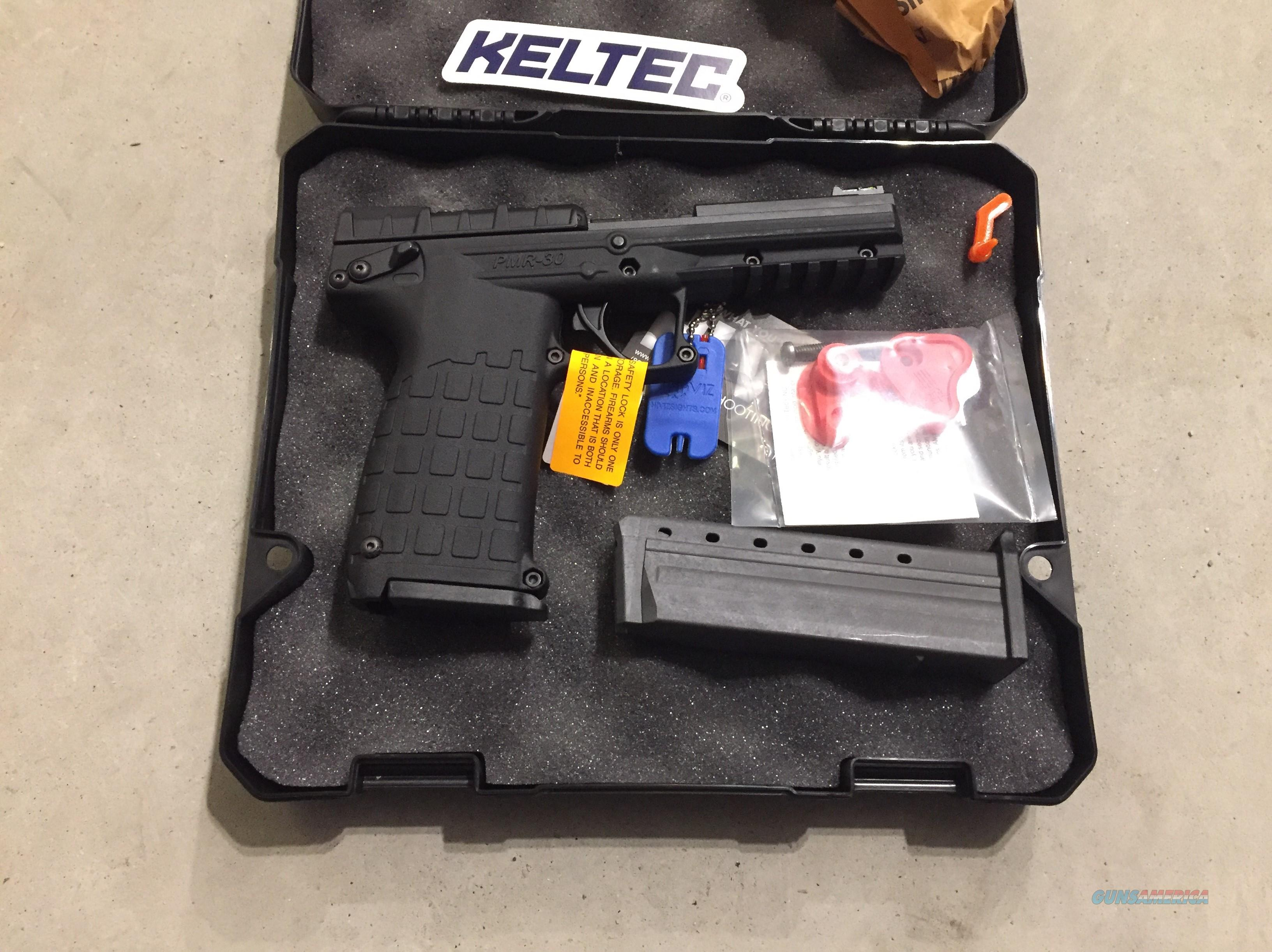 PMR 30 by Kel-Tec .22mag w/2(30+1 round mags) Black PMR30 .22WMR New in case  Guns > Pistols > Kel-Tec Pistols > Pocket Pistol Type