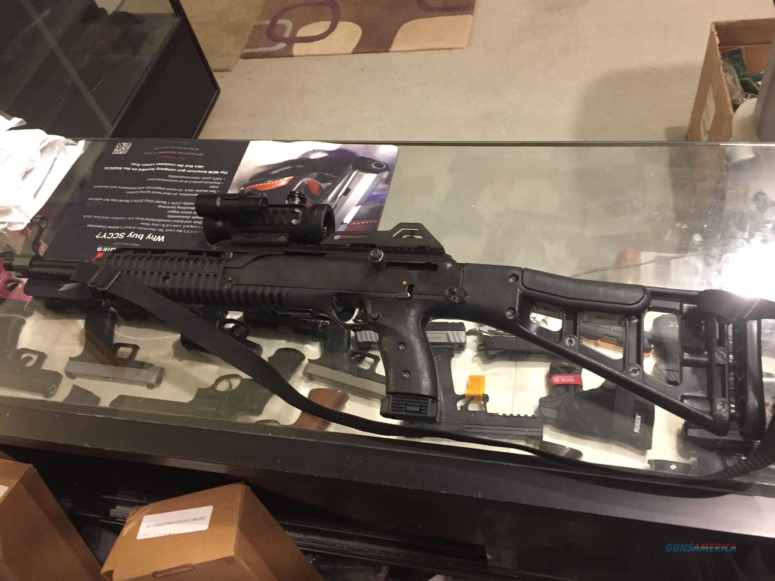 Hi Point .45acp Carbine ( 4595 TS ) w/scope laser/light Hi Point Carbine very good condition (No card fees added )  Guns > Rifles > Hi Point Rifles
