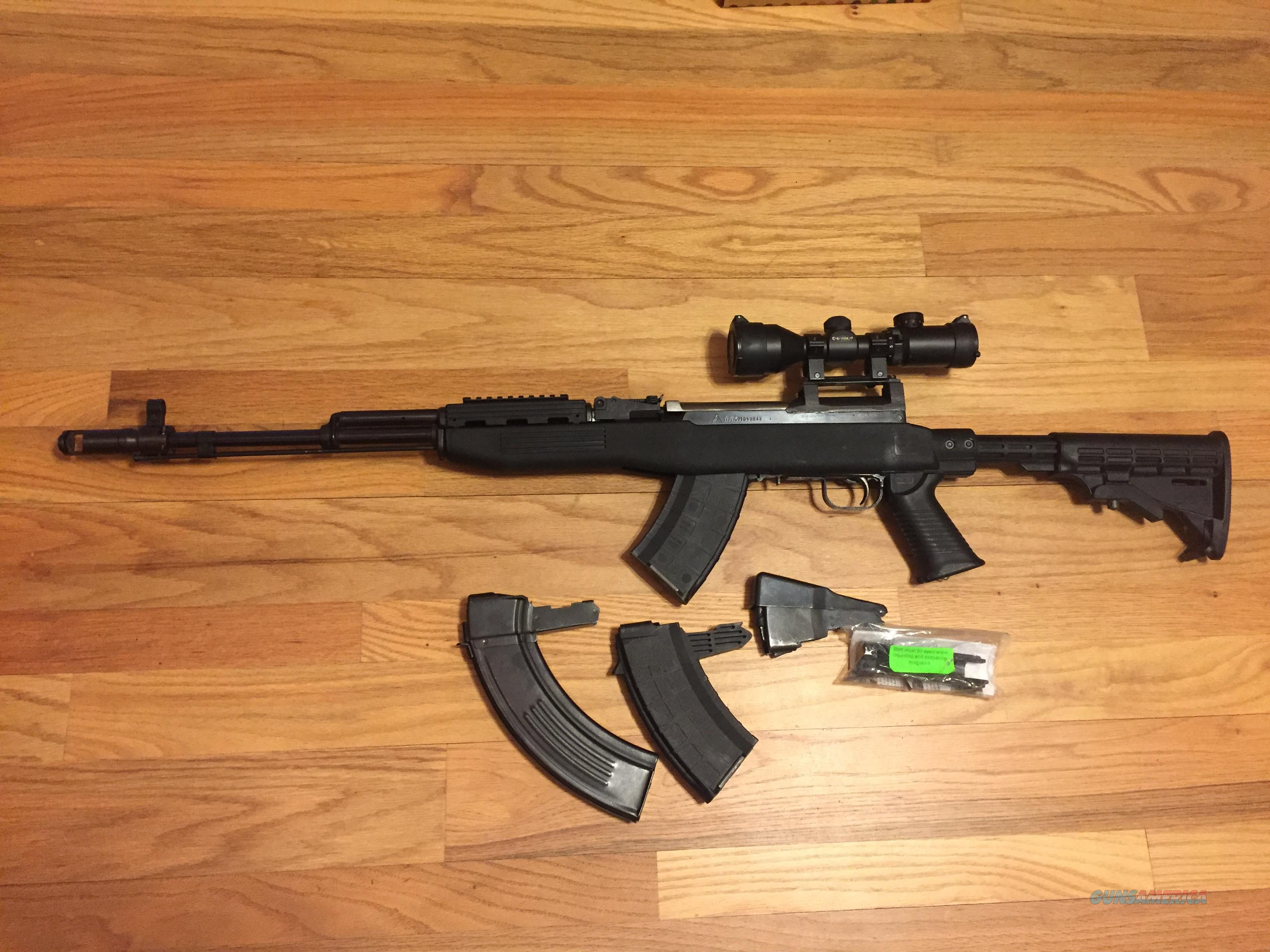 SKS Norinco 7.62x39mm converted w/scope and 3 magazines in very good condition  Guns > Rifles > SKS Rifles