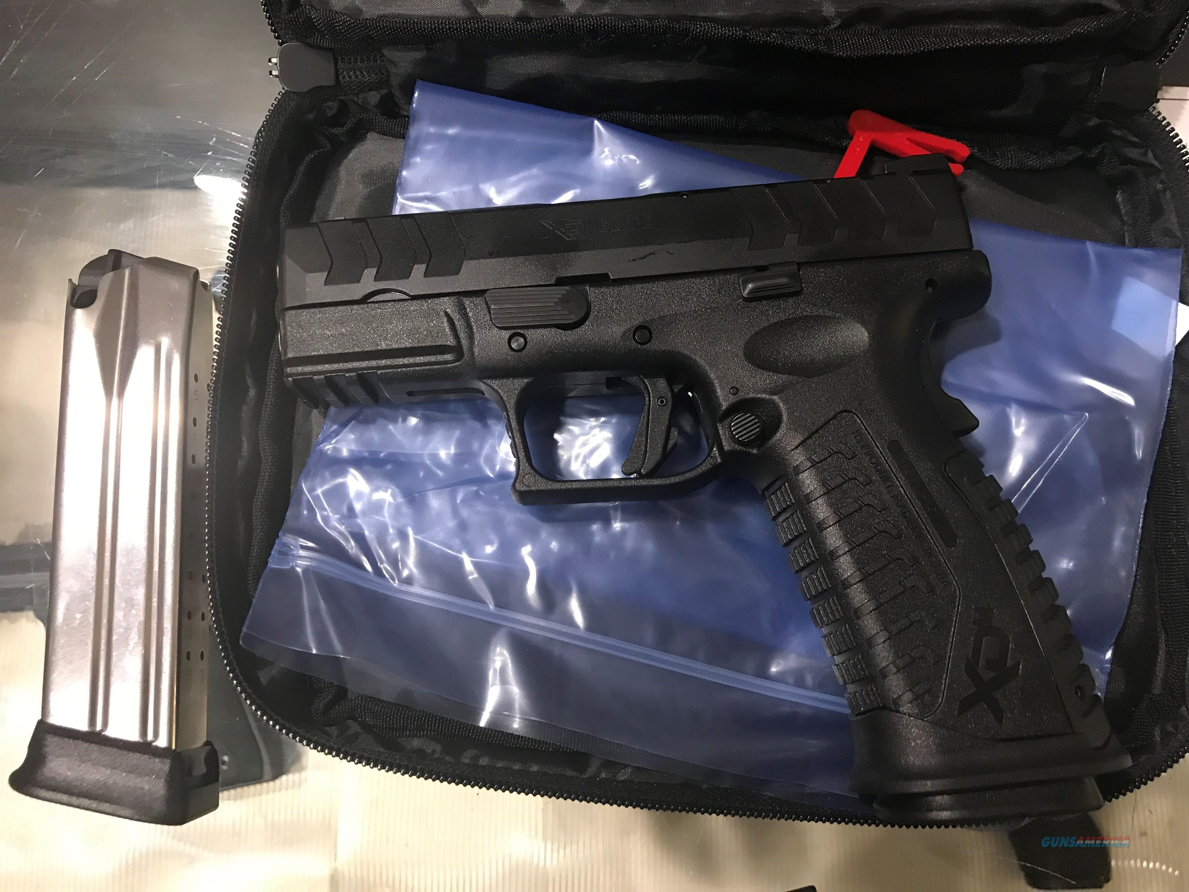Springfield Armory XDM Elite 9mm model XDME9389BHC with two 20+1 round magazines SA XD-M New in box (no card fees added)  Guns > Pistols > Springfield Armory Pistols > XD-M