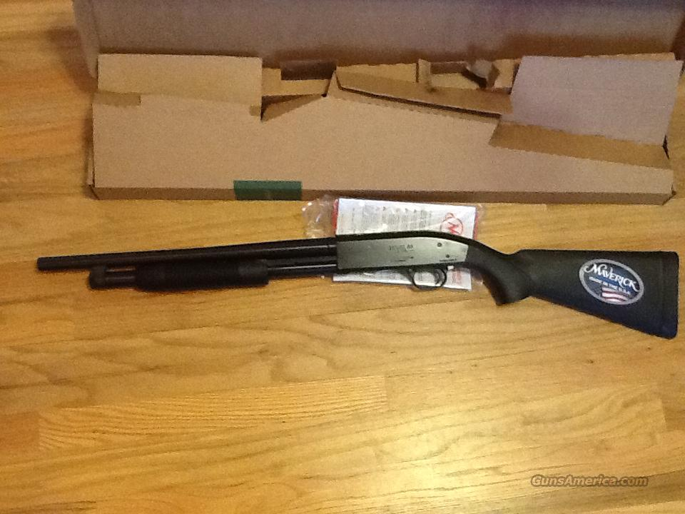 "Maverick 88 by Mossberg 18.5"" barrel 12 gauge New in box  Guns > Shotguns > Maverick Shotguns"