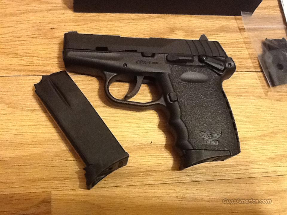 SCCY CPX1 CB in 9mm w/safety and 2)10+1 round mags New in Box   Guns > Pistols > S Misc Pistols