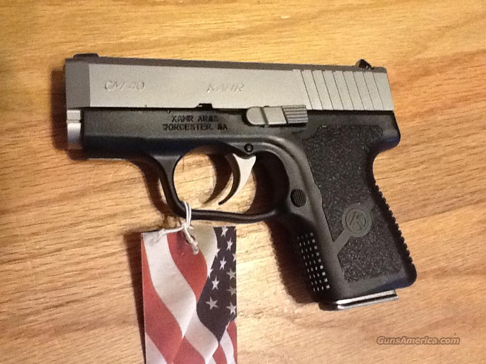 CM40 by Kahr Stainless/ polymer  New in Box  Guns > Pistols > Kahr Pistols