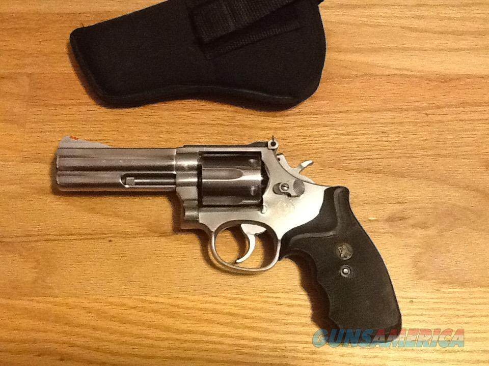 S&W 686-2 .357 Magnum / .38 Special Stainless S... For Sale