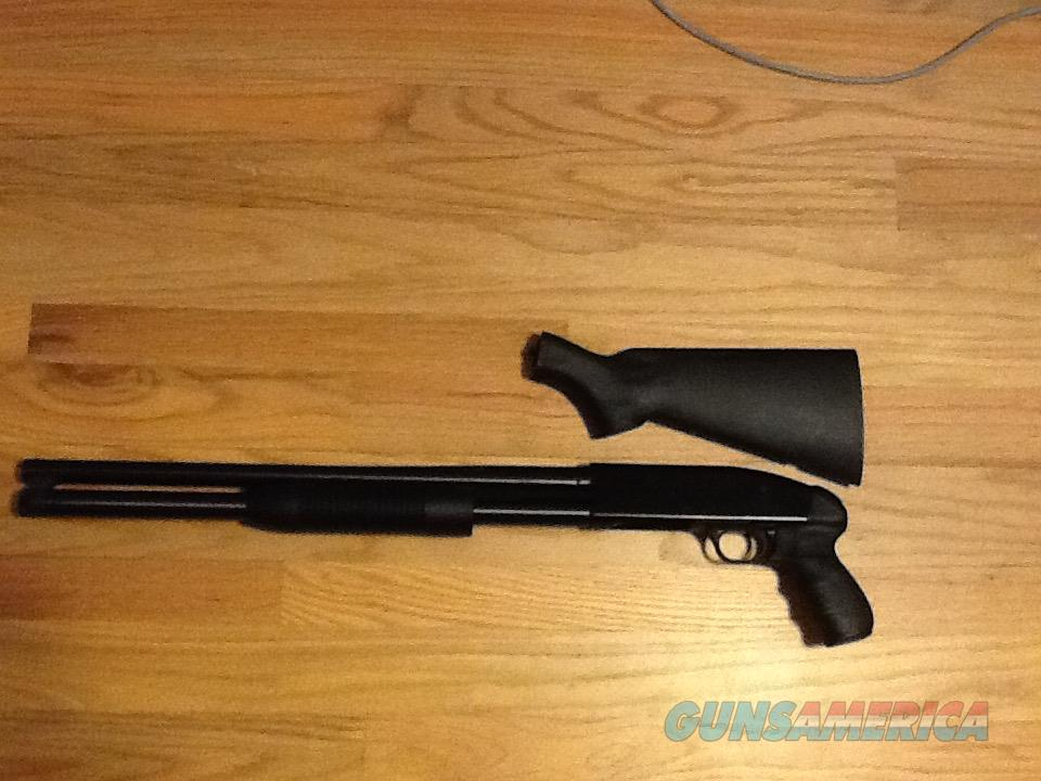 "Mossberg Maverick 88 Security 12 gauge shotgun 8 round & 20"" barrel W/ Pistol Grip  New in Box  Guns > Shotguns > Maverick Shotguns"