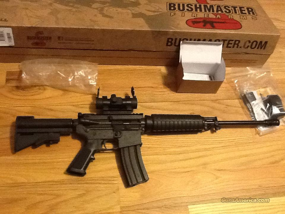 AR15 Bushmaster C15 w/red dot scope  in 5.56 NATO(.223) AR-15 New in box  Guns > Rifles > Bushmaster Rifles > Complete Rifles