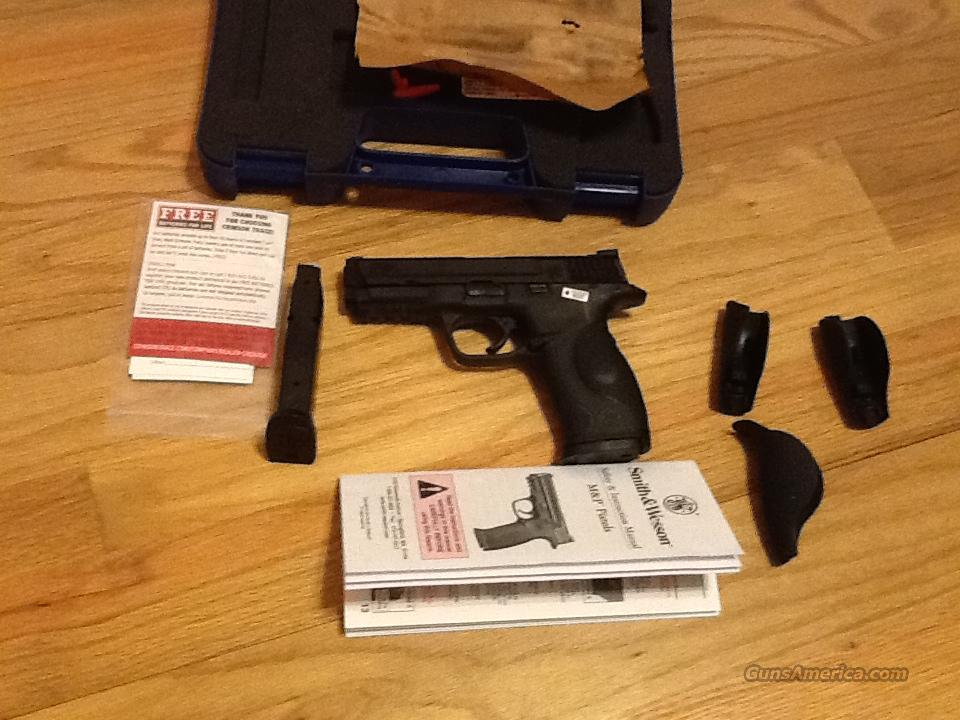 S&W M&P 9mm Two 17rnd mags w/Laser grips New in box  Guns > Pistols > Smith & Wesson Pistols - Autos > Polymer Frame