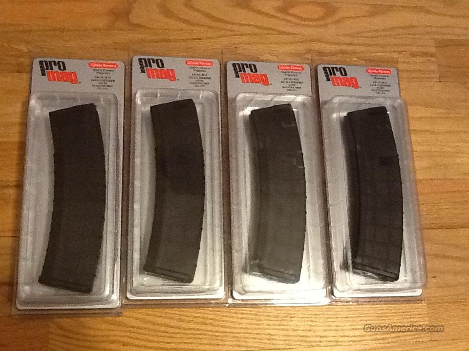 AR15  42 round magazines(4) AR-15 New by Promag  Non-Guns > Magazines & Clips > Rifle Magazines > AR-15 Type