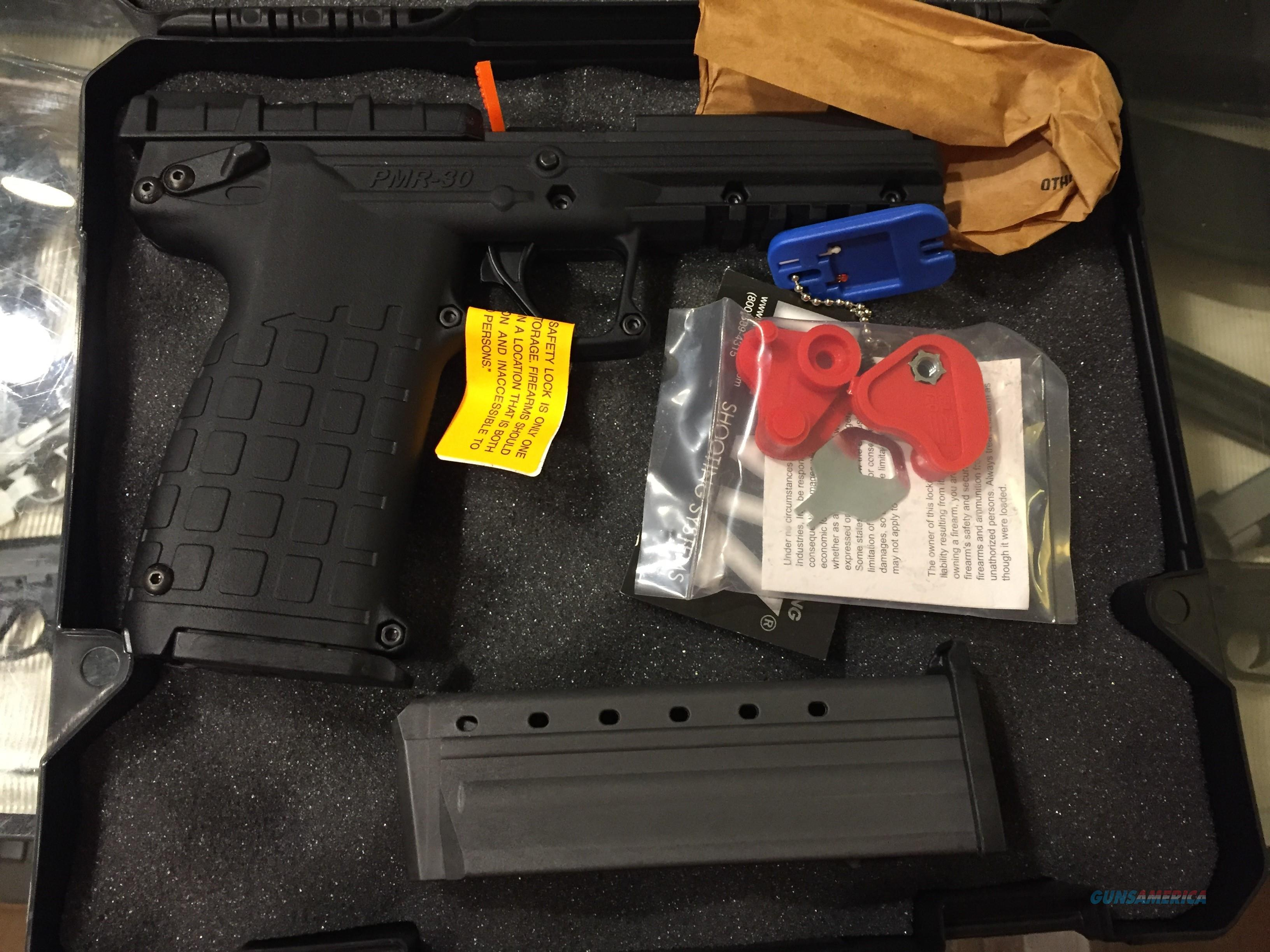 Kel Tec PMR 30 .22 WMR w/two 30 rnd mags PMR30 22mag New in case (No card fees added)  Guns > Pistols > Kel-Tec Pistols > Other