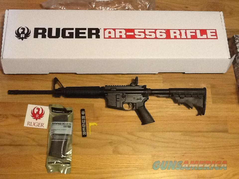 Ruger AR-556 Rifle AR-15 in 5.56NATO (.223) AR556 AR15 New in Box (No card fees added)  Guns > Rifles > Ruger Rifles > SR Series