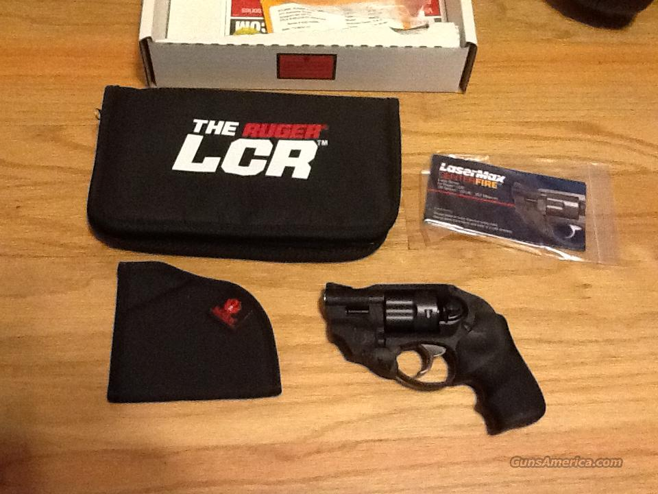 Ruger LCR in 38sp +P w/Laser Max New in Box  Guns > Pistols > Ruger Double Action Revolver > LCR