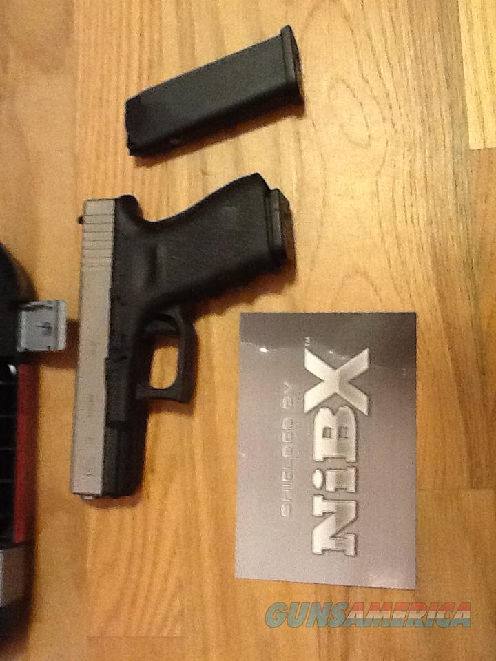 Glock 19 Gen 3 w/Nickel Boron (NiB-X) 9mm 2/ 15+1 rnd mags G19 New in Case  Guns > Pistols > Glock Pistols > 19