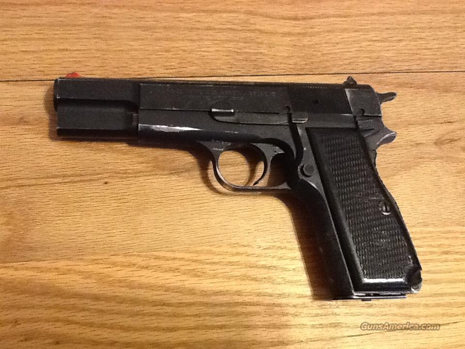 Browning Hi Power 9mm made in Belgium  good condition  Guns > Pistols > Browning Pistols > Hi Power