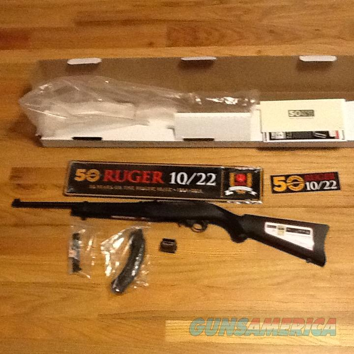 Ruger 10/22 Collector Series Model 21104  **50th Anniversary** .22LR   Fiber Optic Sights 1022 New in box  Guns > Rifles > Ruger Rifles > 10-22