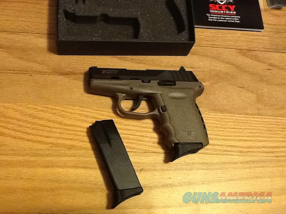 SCCY CPX2 CBDE Flat Dark Earth & Carbon Black 9mm semi-auto New in box  Guns > Pistols > SCCY Pistols > CPX2