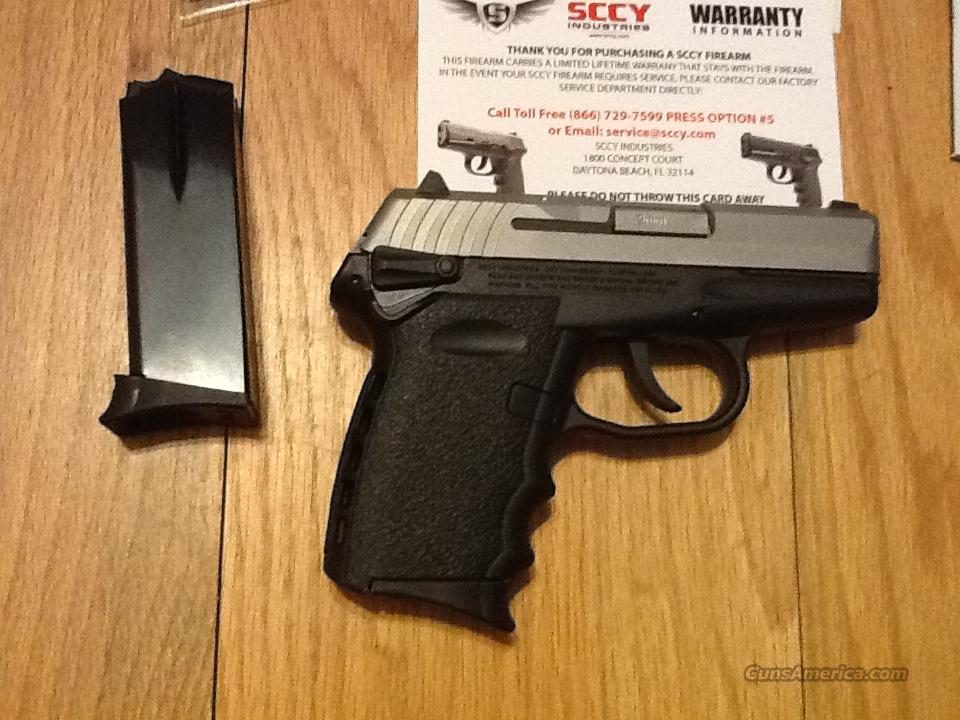 SCCY CPX1 TT 9mm semi-auto pistol,ambi-safety,(2) 10+1 round capacity, New in box  Guns > Pistols > S Misc Pistols
